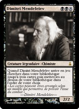 Dmitri Mendeleïev funcard